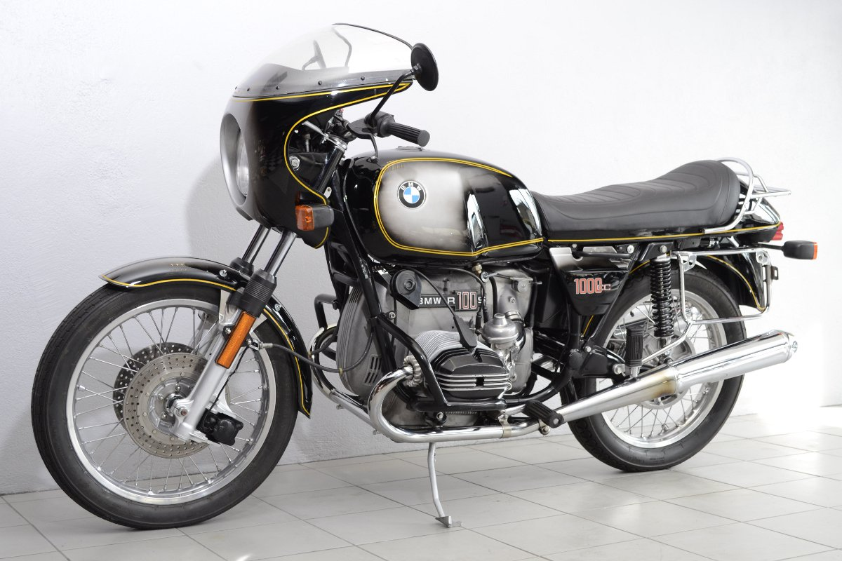 bmw r100 s de 1977 d 39 occasion motos anciennes de collection allemande motos vendues. Black Bedroom Furniture Sets. Home Design Ideas