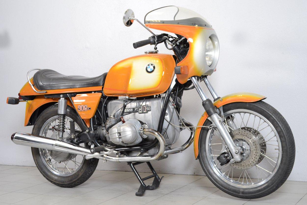 bmw r90 s de 1973 d 39 occasion motos anciennes de collection allemande motos vendues. Black Bedroom Furniture Sets. Home Design Ideas