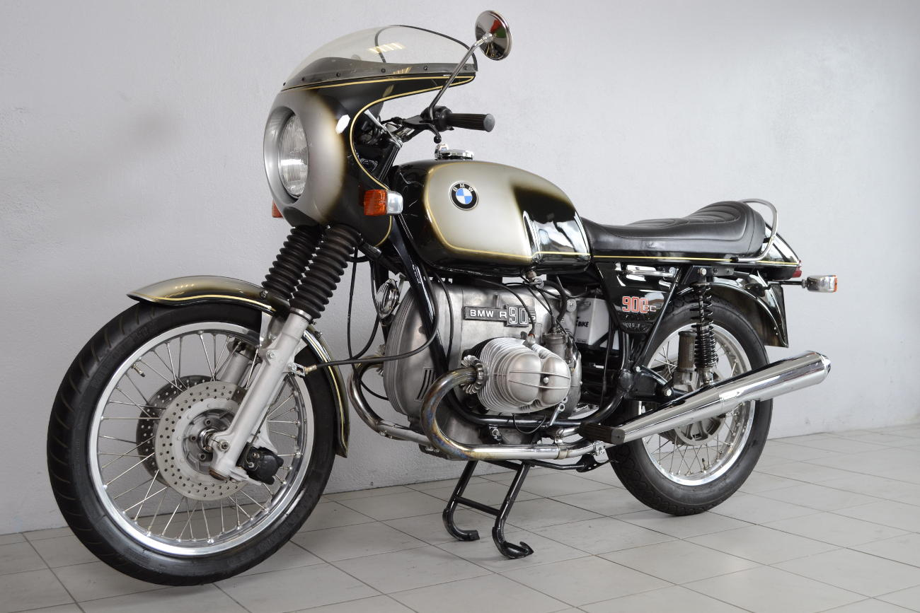 bmw r90 s de 1975 d 39 occasion motos anciennes de collection allemande motos vendues. Black Bedroom Furniture Sets. Home Design Ideas