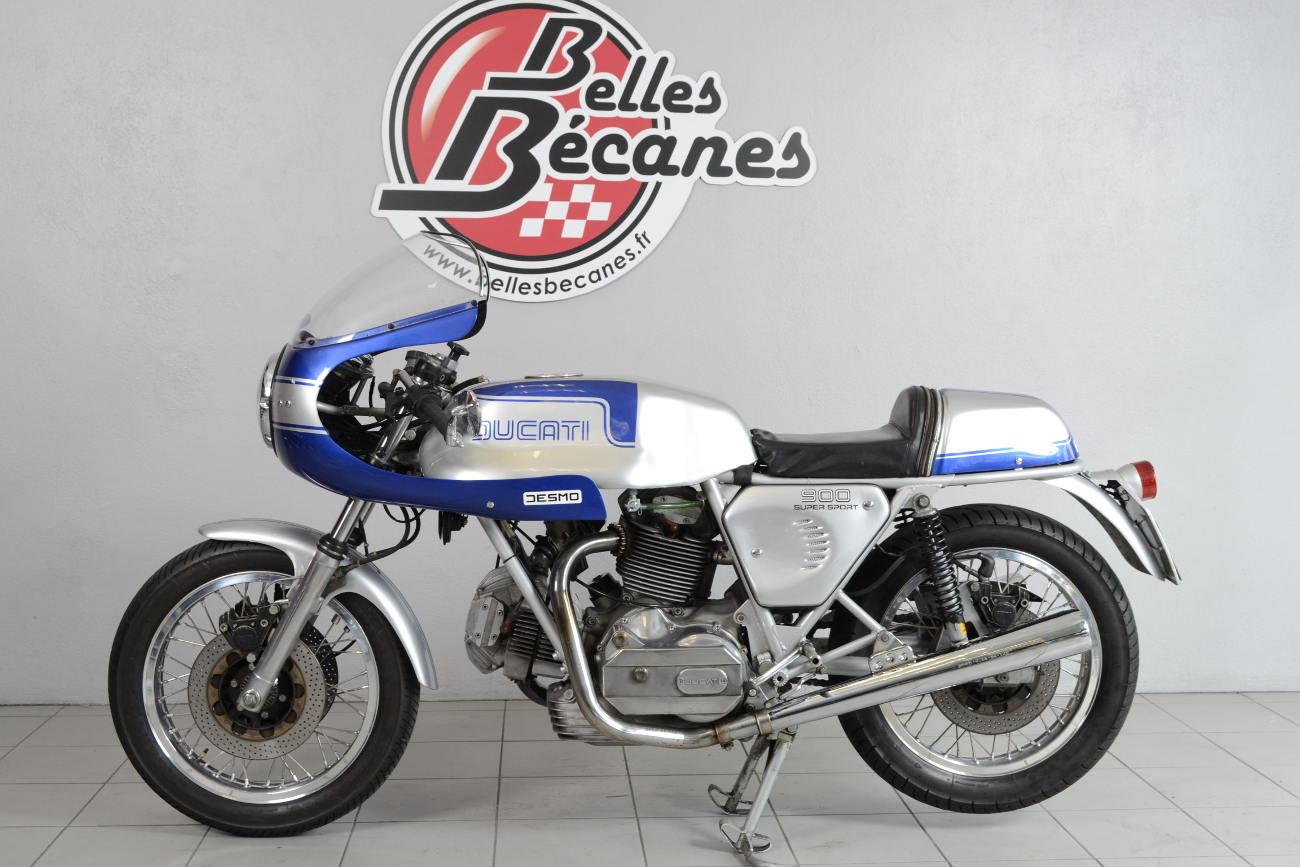 ducati 900 ss de 1981 d 39 occasion motos anciennes de collection italienne motos vendues. Black Bedroom Furniture Sets. Home Design Ideas