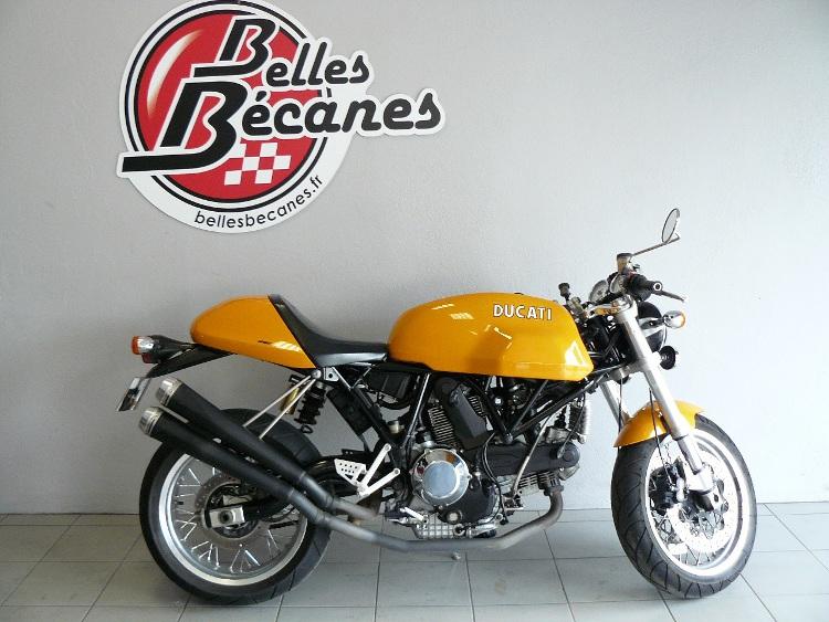 ducati sport classic de 2005 d 39 occasion motos anciennes de collection italienne motos vendues. Black Bedroom Furniture Sets. Home Design Ideas
