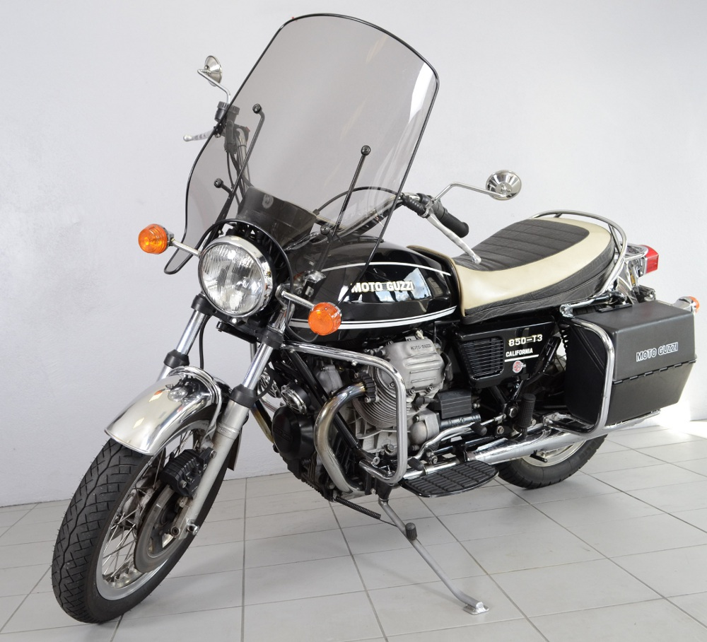 guzzi 850 t3 california de 1981 d 39 occasion motos. Black Bedroom Furniture Sets. Home Design Ideas
