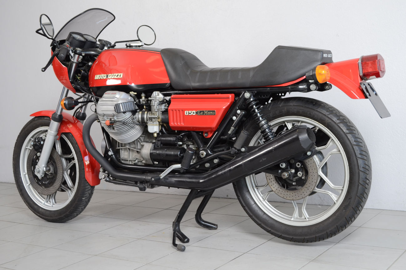 moto guzzi le mans de 1975 d 39 occasion motos anciennes de collection italienne motos vendues. Black Bedroom Furniture Sets. Home Design Ideas