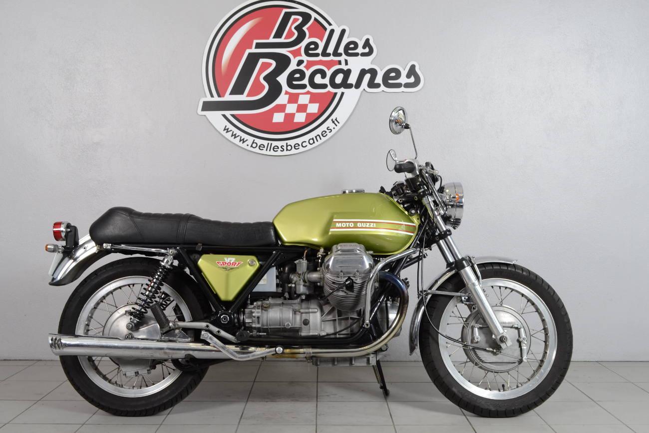 moto guzzi v7 sport de 1973 d 39 occasion motos anciennes de collection italienne motos vendues. Black Bedroom Furniture Sets. Home Design Ideas