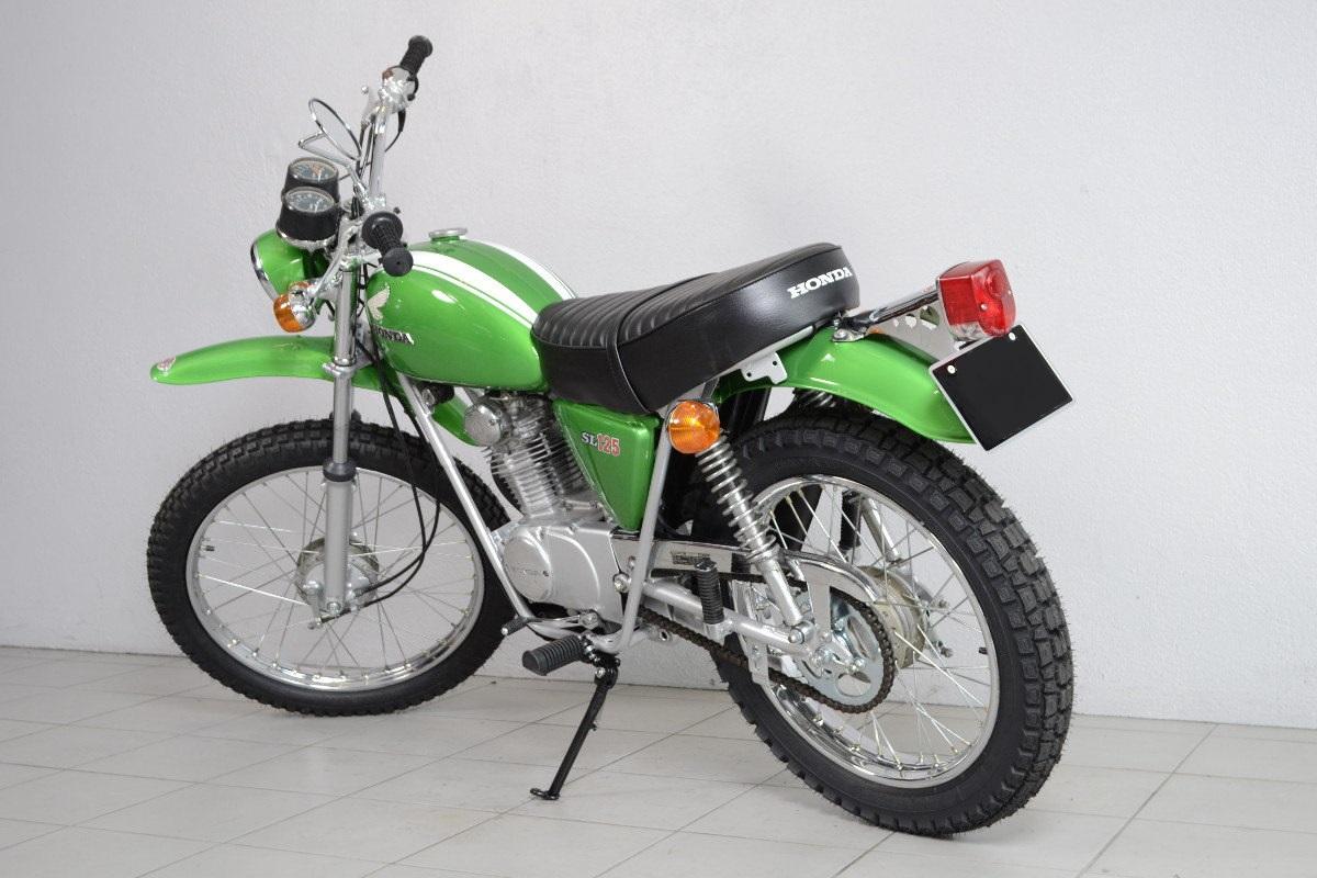 honda sl 125s de 1973 d 39 occasion motos anciennes de collection japonaise motos vendues. Black Bedroom Furniture Sets. Home Design Ideas