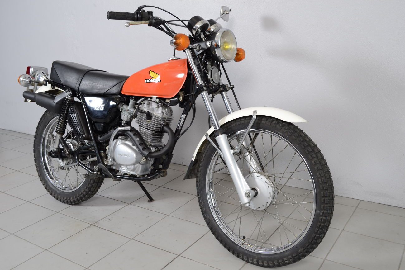 honda 125 xl de 1978 d 39 occasion motos anciennes de collection japonaise motos vendues. Black Bedroom Furniture Sets. Home Design Ideas