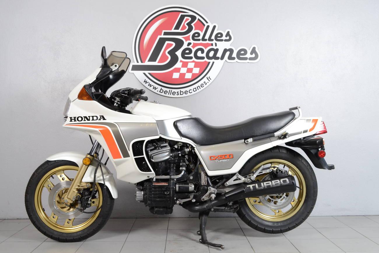 honda cx 500 turbo de 1982 d 39 occasion motos anciennes de collection japonaise motos disponibles. Black Bedroom Furniture Sets. Home Design Ideas