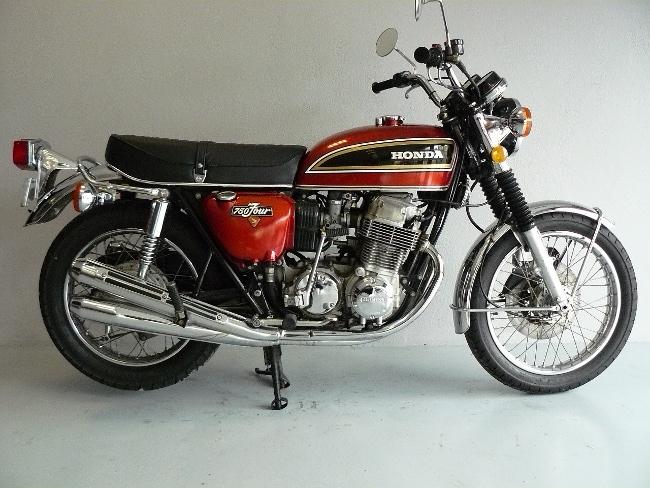 honda cb 750 k5 de 1975 d 39 occasion motos anciennes de collection japonaise motos vendues. Black Bedroom Furniture Sets. Home Design Ideas