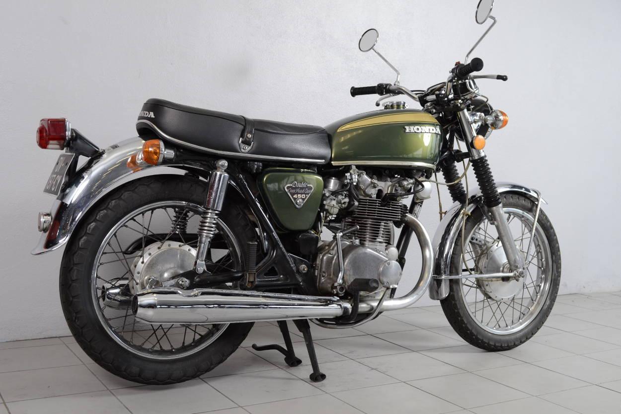 honda cb 450 k5 de 1973 d 39 occasion motos anciennes de. Black Bedroom Furniture Sets. Home Design Ideas