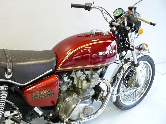 honda cb 500 t de 1976 d 39 occasion motos anciennes de collection japonaise motos vendues. Black Bedroom Furniture Sets. Home Design Ideas