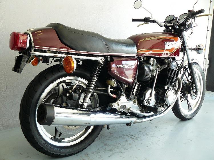 honda cb 750 f2 de 1978 d 39 occasion motos anciennes de collection japonaise motos vendues. Black Bedroom Furniture Sets. Home Design Ideas