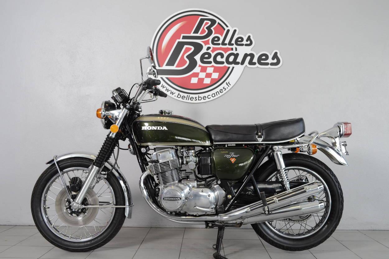 honda cb 750 k2 de 1972 d 39 occasion motos anciennes de collection japonaise motos vendues. Black Bedroom Furniture Sets. Home Design Ideas