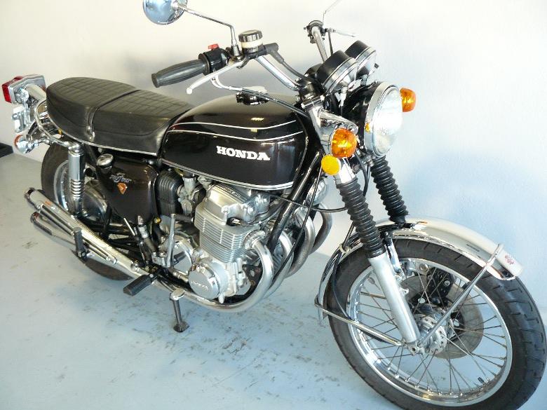 honda cb 750 k2 brown de 1972 d 39 occasion motos anciennes de collection japonaise motos vendues. Black Bedroom Furniture Sets. Home Design Ideas