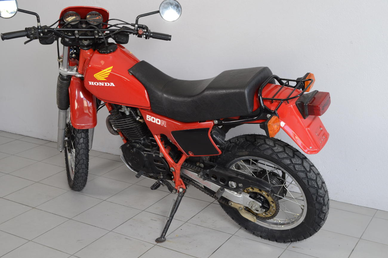 honda xl 500 r de 1982 d 39 occasion motos anciennes de collection japonaise motos vendues. Black Bedroom Furniture Sets. Home Design Ideas