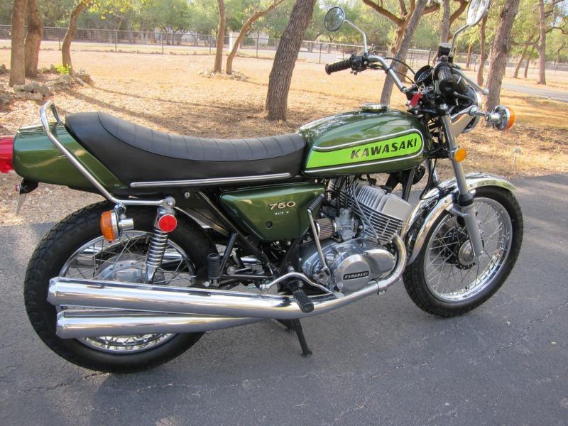 moto kawasaki 750 h2 occasion