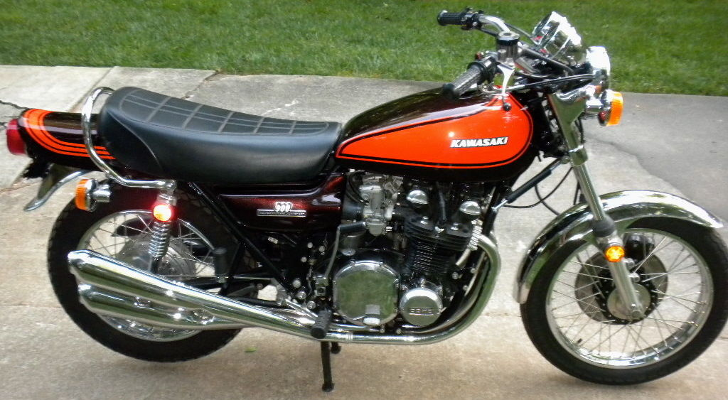 kawasaki 900 z1 de 1973 d 39 occasion motos anciennes de collection japonaise motos vendues. Black Bedroom Furniture Sets. Home Design Ideas