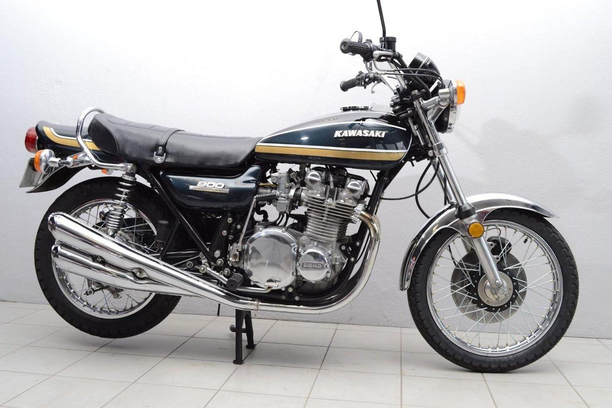 kawasaki 900 z1 b de 1975 d 39 occasion motos anciennes de collection japonaise motos vendues. Black Bedroom Furniture Sets. Home Design Ideas