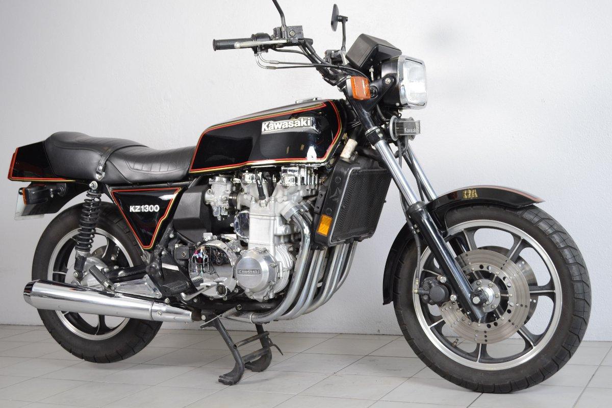 kawasaki z1300 a2 de 1980 d 39 occasion motos anciennes de collection japonaise motos vendues. Black Bedroom Furniture Sets. Home Design Ideas