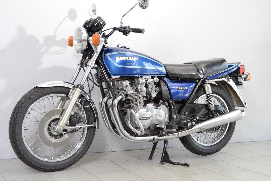 kawasaki z 650 b2 de 1978 d 39 occasion motos anciennes de collection motos vendues. Black Bedroom Furniture Sets. Home Design Ideas