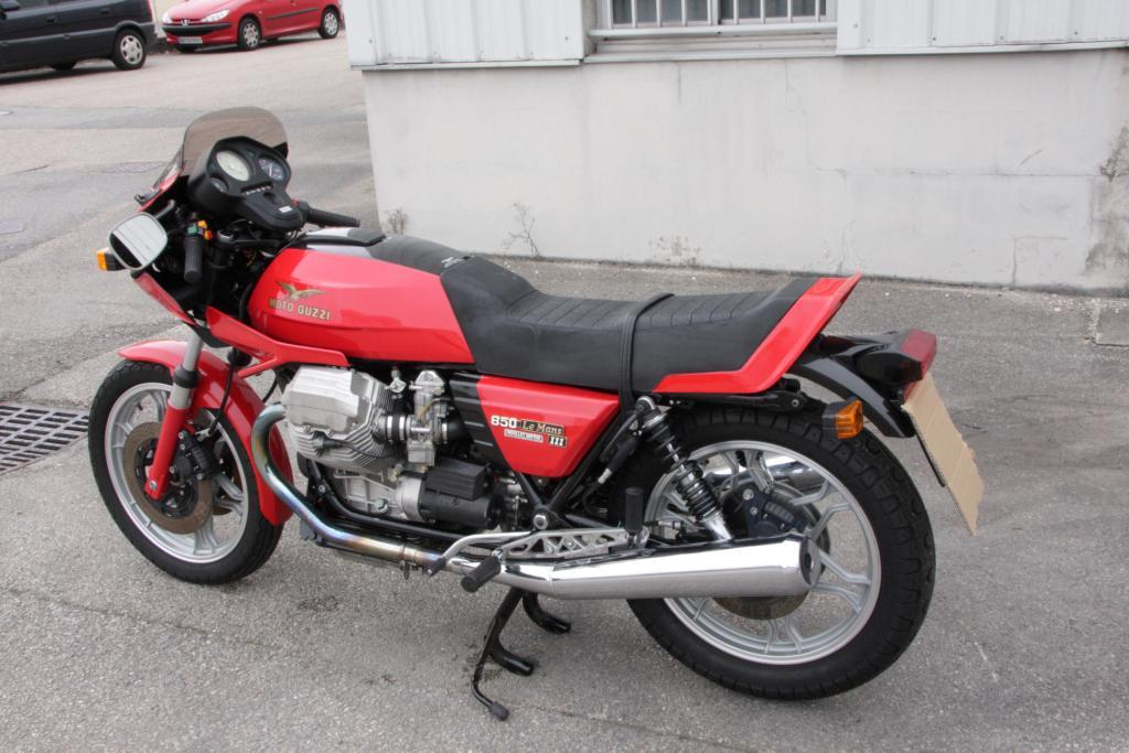 moto guzzi le mans iii de 1983 d 39 occasion motos. Black Bedroom Furniture Sets. Home Design Ideas