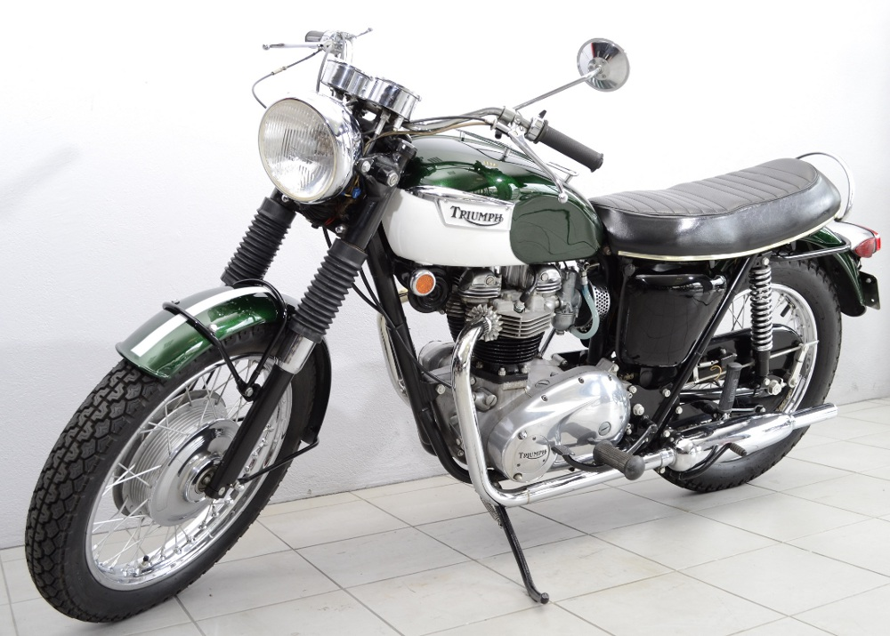 triumph 650 tr6r de 1969 d 39 occasion motos anciennes de collection anglaise motos vendues. Black Bedroom Furniture Sets. Home Design Ideas