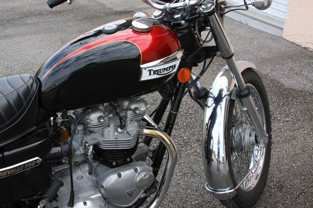 triumph 750 bonneville de 1978 d 39 occasion motos anciennes de collection americaine motos vendues. Black Bedroom Furniture Sets. Home Design Ideas
