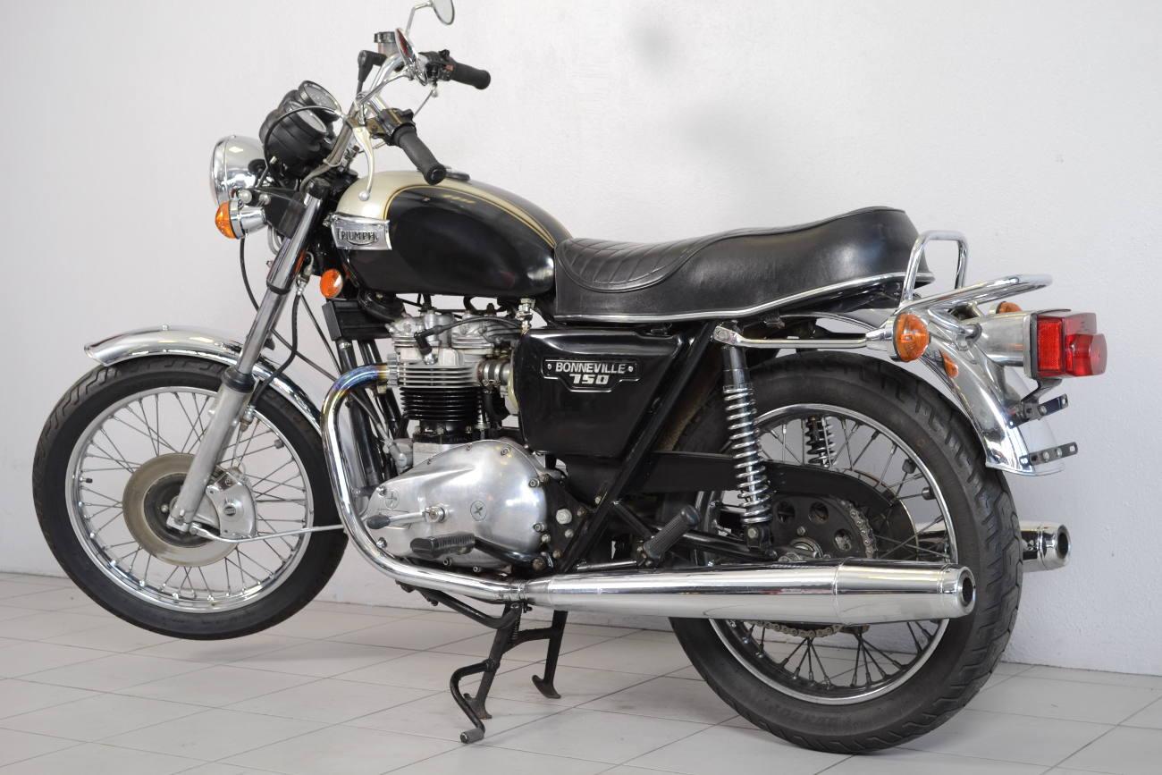 triumph bonneville t140e de 1979 d 39 occasion motos anciennes de collection anglaise motos. Black Bedroom Furniture Sets. Home Design Ideas