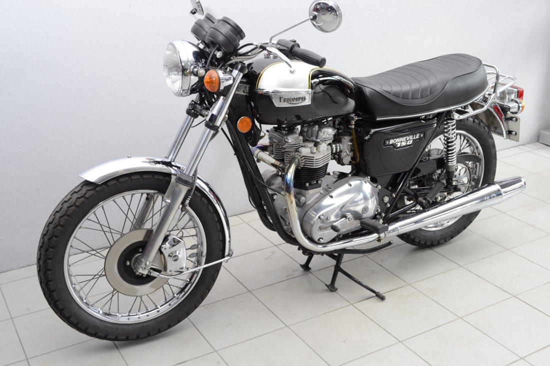 triumph t140 e de 1979 d 39 occasion motos anciennes de collection anglaise motos vendues. Black Bedroom Furniture Sets. Home Design Ideas