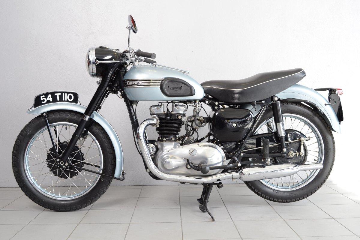 Triumph T110 De 1954 Doccasion Motos Anciennes De Collection