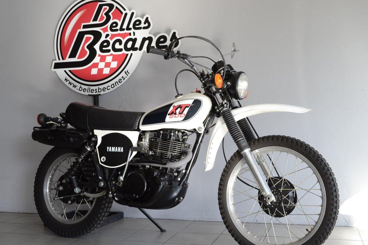 yamaha 500 xt 1u6 de 1979 d 39 occasion motos anciennes de collection japonaise motos vendues. Black Bedroom Furniture Sets. Home Design Ideas