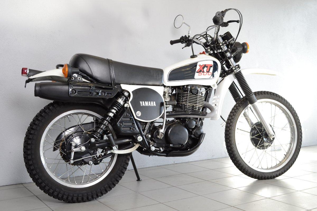 moto yamaha 500 xt