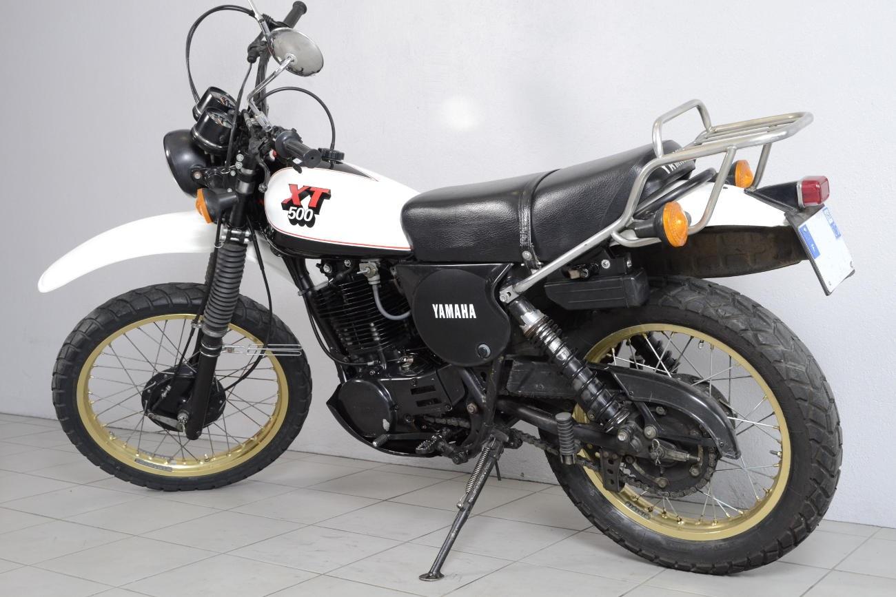 yamaha 500 xt de 1980 d 39 occasion motos anciennes de collection japonaise motos vendues. Black Bedroom Furniture Sets. Home Design Ideas