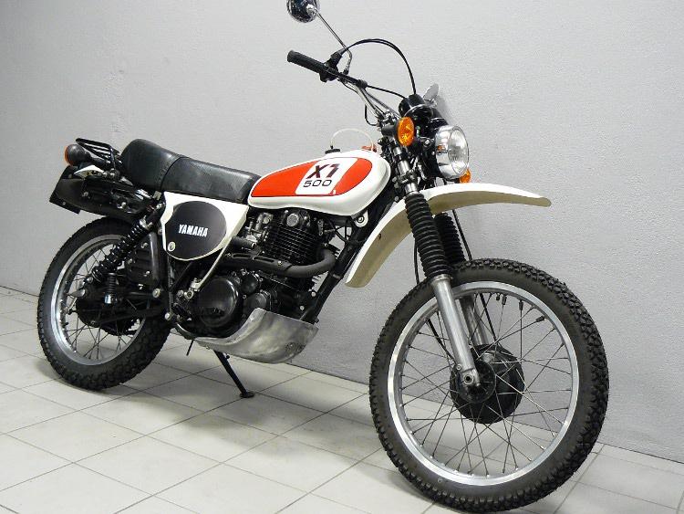 yamaha 500 xt 1u6 de 1978 d 39 occasion motos anciennes de collection japonaise motos vendues. Black Bedroom Furniture Sets. Home Design Ideas