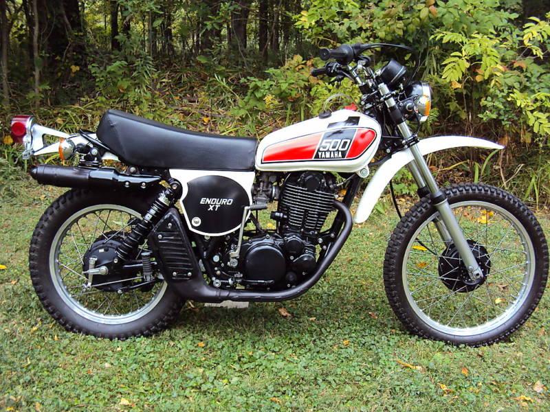 yamaha 500 xt de 1976 d 39 occasion motos anciennes de collection japonaise motos vendues. Black Bedroom Furniture Sets. Home Design Ideas