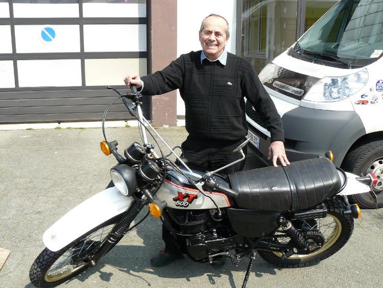 yamaha 500 xt de 1981 d 39 occasion motos anciennes de collection japonaise motos vendues. Black Bedroom Furniture Sets. Home Design Ideas