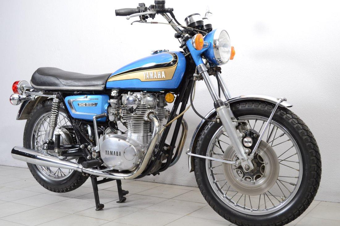 yamaha 650 xs de 1973 d 39 occasion motos anciennes de collection japonaise motos vendues. Black Bedroom Furniture Sets. Home Design Ideas